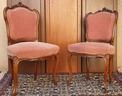 זוג כיסאות/ כורסאות עתיקות
