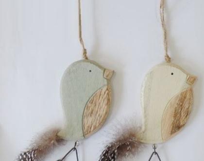 MM מובייל ציפור עץ