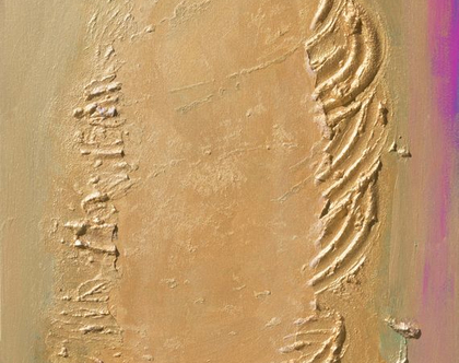 שאריות פקעת הגולם - עבודת אמנות מקורית על קנווס