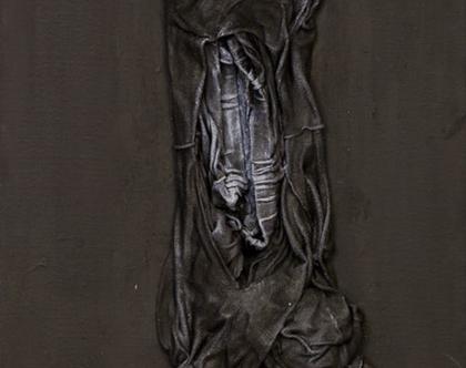 בקיעה - עבודת אמנות מקורית על קנווס