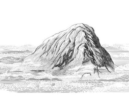 הדפס בגודל A3- הרים