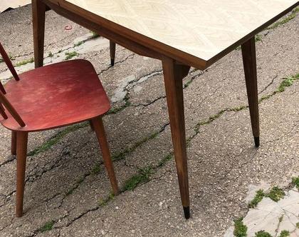 שולחן וינטג' של סבא