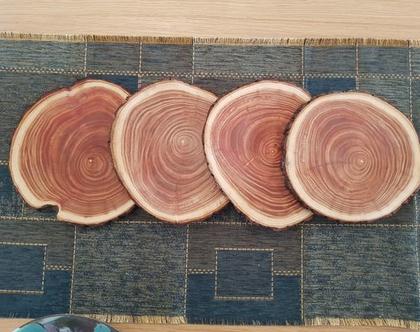 פרוסות עץ דקורטיביות