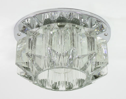 ספוט וינטאג׳ קריסטלי, מנורת וינטג׳ צמודת תקרה, מנורת קריסטל קטנה