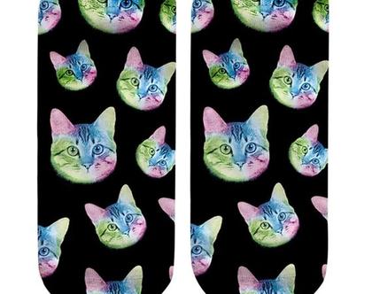 גרבי חתולים / גרביים מיוחדות / גרביים מצויירות