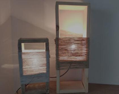 סדנת עיצוב גופי תאורה מעץ