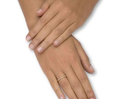 טבעת אינטרניטי 0.20 קראט יהלומים