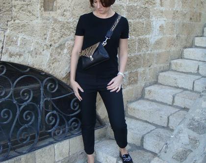 Cross-body Pouch / waist bag / פאוץי Belt Bag