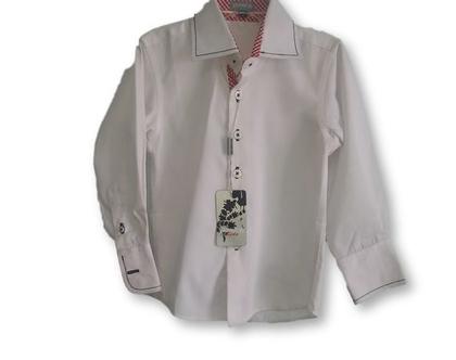 חולצה צווארון מכופתרת 2-12y