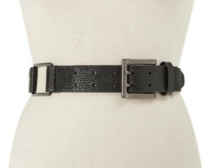 DKNY-Donna Karan | חגורה מיוחדת שחורה דונה קארן