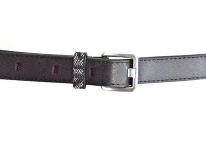CALVIN KLEIN | חגורה שחורה דקה קלוין קליין