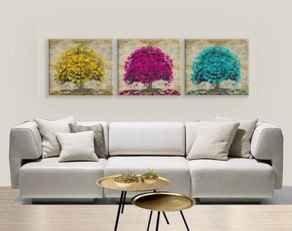 סט תמונות עצים אבסטרקט | תמונות בעיצוב מקורי | סט תמונות יפות לבית | תמונות יפות לבית | תמונות מיוחדות לבית ***השילוח חינם***