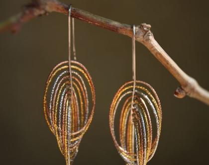 עגילי כסף 925   עגיל עם ציפוי זהב   עגילים מהממות ומיוחדות   עגילים ארוכות עגילים לאירוע