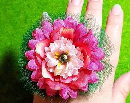 טבעת פרח ענק, הדר