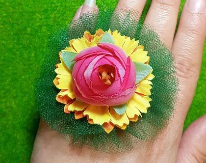 טבעת פרח ענק, קרני