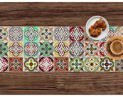 ראנר PVC מעוצב לשולחן האוכל | ראנר ויניל מעוצב | ראנר מבודד חום
