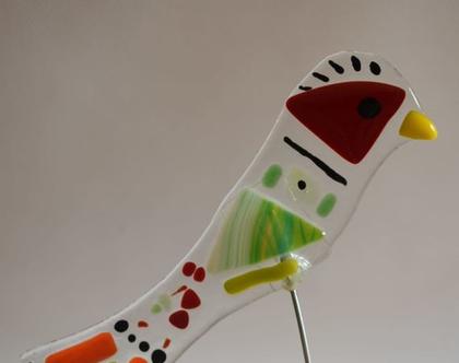 מתנה למשרד ולבית ציפוור מזכוכית קישוט עיצוב בטכנקת פיוזינג חדש בסטודיו