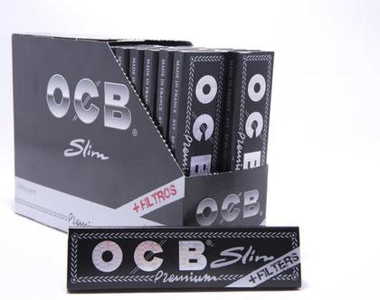 פאקט (32) ניירות גלגול OCB קינג סייז עם פילטרים