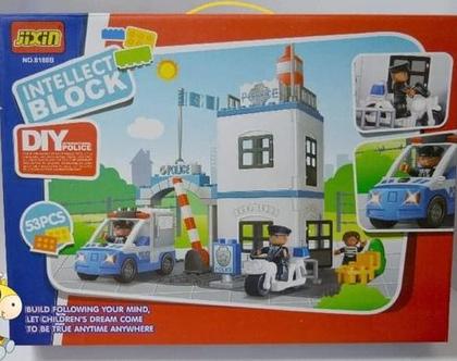 משחק הרכבה תחנת משטרה