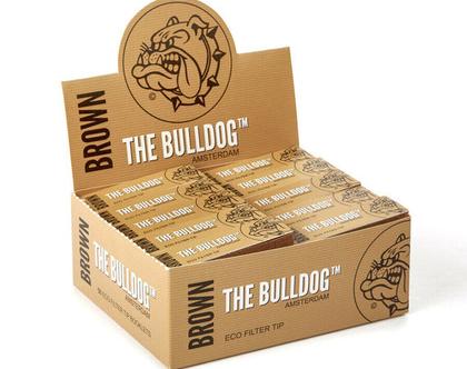 חבילה (50 יחידות) פילטר ידידותי לסביבה של חברת בולדוג צבע חום