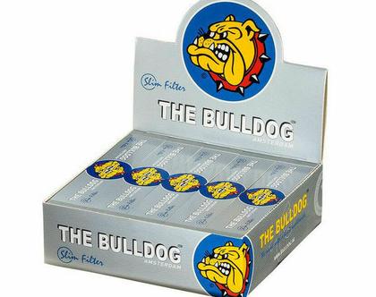 חבילה (50 יחידות) פילטר עבה של חברת בולדוג צבע כסוף