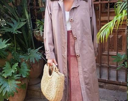 מעיל טרנץ' לנשים | מעיל ארוך