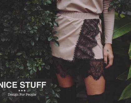 חצאית 'אנאבל' - קרם- 71%!!