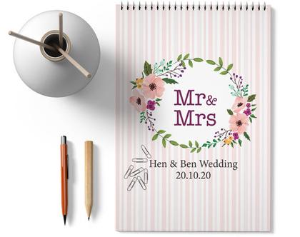 מחברת תכנון לחתונה ״פלורס״