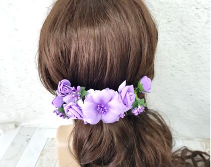 פרחים לשיער תכשיטי שיער פרחים