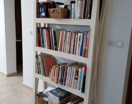 ספריה | ארונית ספרים | ספריה לסלון | ספריית ספרים