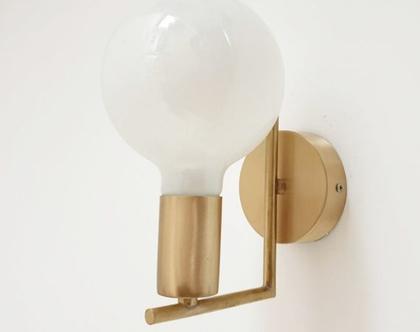 מנורת קיר דגם KAY GOLD   תאורת קיר זהב