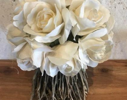 בוקט פרחים מיובשים