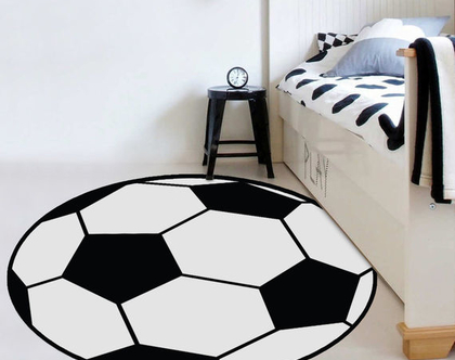 שטיח פי וי סי כדורגל לחדר ילדים | שטיח כדורגל לחדר נוער | שטיחים מעוצבים | שטיח PVC לחדר ילדים | שטיח PVC מעוצב לחדר ילדים