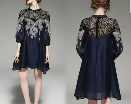שמלה ווינטג' דגם מקורי