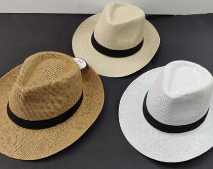 כובע פנמה | כובע לאירועים | כובע יוניסקס |כובע קיץ