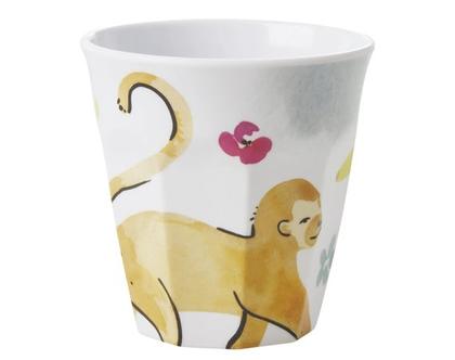 RICE DK | כוס טוטון בהדפס קוף