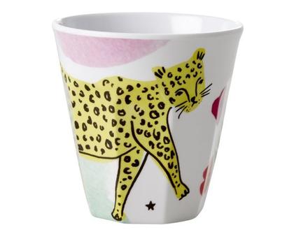 RICE DK | כוס טוטון בהדפס נמר