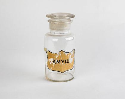 בקבוק בית מרקחת עשוי זכוכית - Amylu