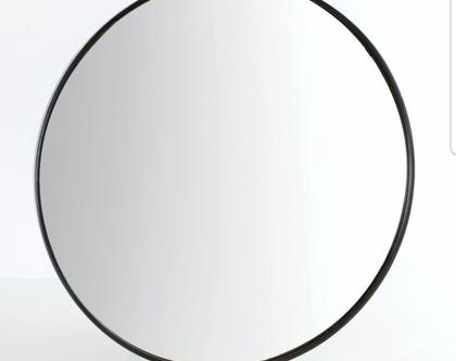 מראה עגולה שחורה בגדלים שונים