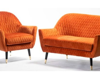 סט ספה וכורסא קטיפה   חמישה צבעים   *** השילוח חינם ***