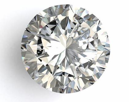 יהלום עגול טבעי 0.40 קראט
