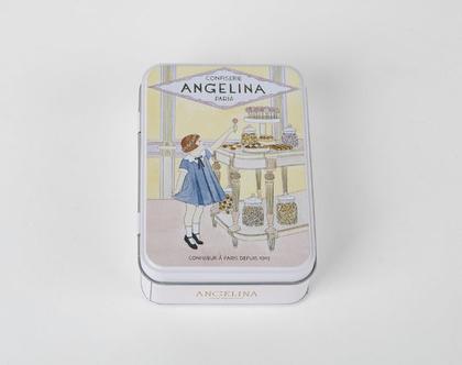 קופסת פח קטנה ומתוקה לשוקולדים