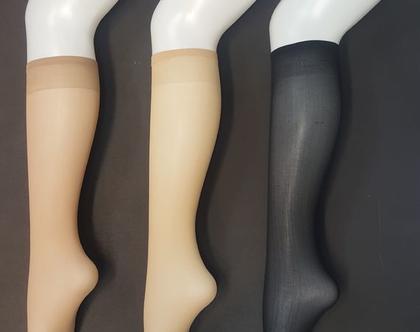 גרבי ברך ניילון | גרביים עד הברך 40 דנייר