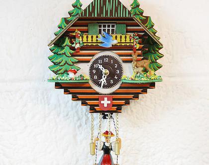 שעון מטוטלת עם אישה מתנדנדת, שעון מטוטלת עם סוללה