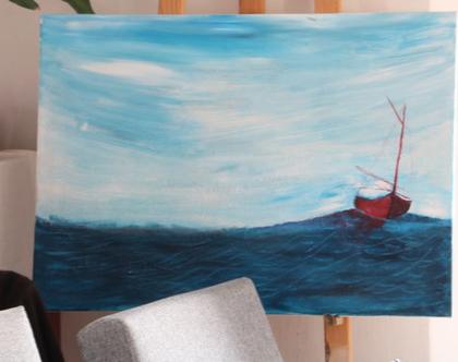 ציור אחרי הסערה