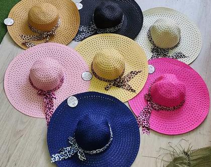 כובע נשים רחב שוליים | כובע לקיץ