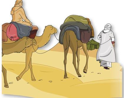 קומיקס עקידת יצחק בעברית