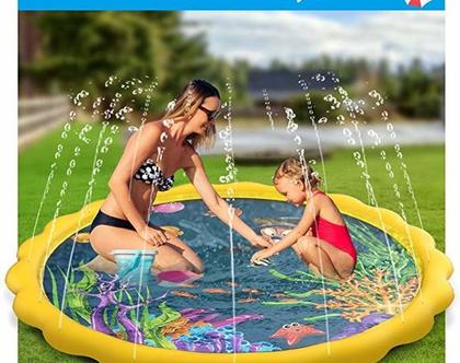 """ממטרה מהממת לילדים לקיץ משחק מים הכי כיף שיש 172ס""""מ"""