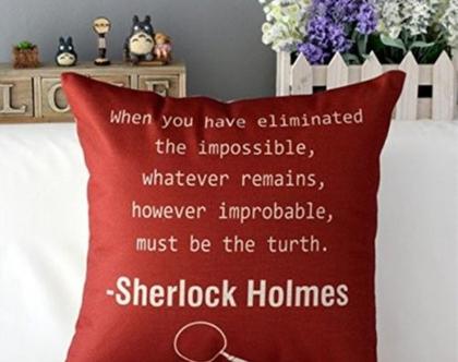 כרית נוי כוכבים שרלוק הולמס 5 Sherlock Holmes