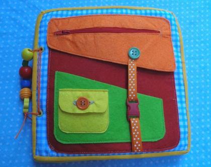 משחק מתוך ספר פעילות לילדים / משטח מוטורי / מתנה לילד / מתנה לילדה